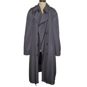 Vintage Christian Dior Insulated Trench Coat 44